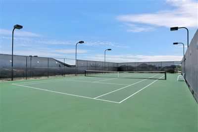 Amenity Center tennis court