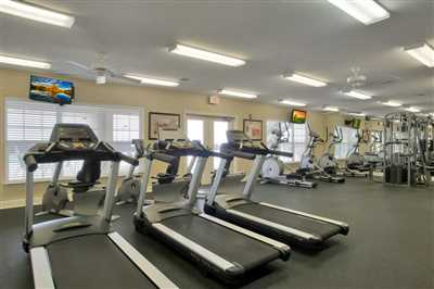 Amenity Center fitness machines