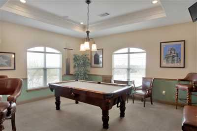 Amenity Center game room