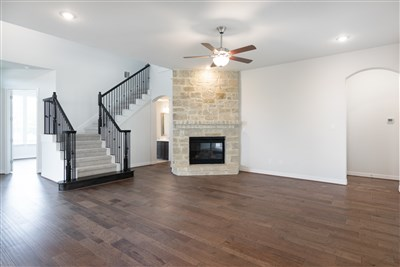 Stairwell | Fireplace