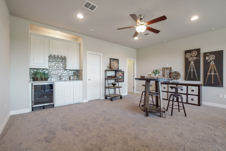 Optional Game Room w/ opt. wet bar